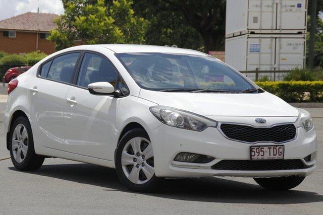 Used Kia Cerato TD MY13 S Toowoomba, 2013 Kia Cerato TD MY13 S White 6 Speed Sports Automatic Sedan