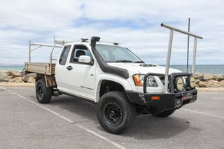 2009 Holden Colorado RC MY09 LX White 5 Speed Manual Cab Chassis.