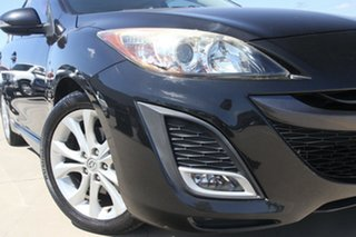 2009 Mazda 3 BM SP25 Black Manual Sedan.