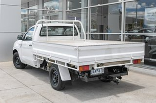 2005 Toyota Hilux KUN16R MY05 SR 4x2 White 5 Speed Manual Cab Chassis