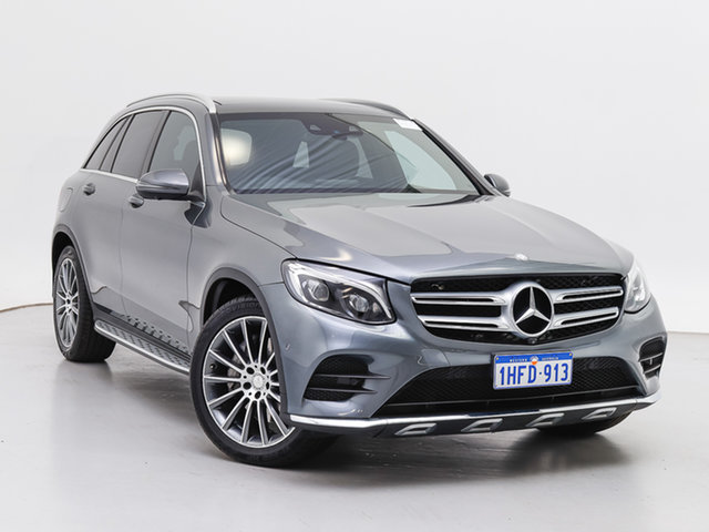Used Mercedes-Benz GLC220D 253 , 2016 Mercedes-Benz GLC220D 253 Grey 9 Speed Automatic Wagon
