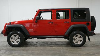 2012 Jeep Wrangler JK MY2012 Unlimited Sport Red 6 Speed Manual Softtop