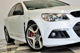 2015 Holden Special Vehicles ClubSport Gen F MY15 R8 White 6 Speed Manual Sedan.