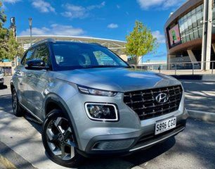 2020 Hyundai Venue QX.2 MY20 Elite (denim Interior) Typhoon Silver 6 Speed Automatic Wagon
