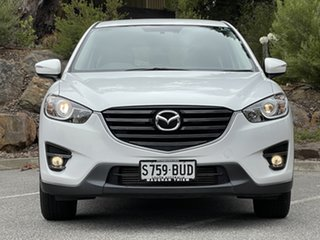 2015 Mazda CX-5 KE1022 Maxx SKYACTIV-Drive AWD Sport Crystal White Pearl 6 Speed Sports Automatic.