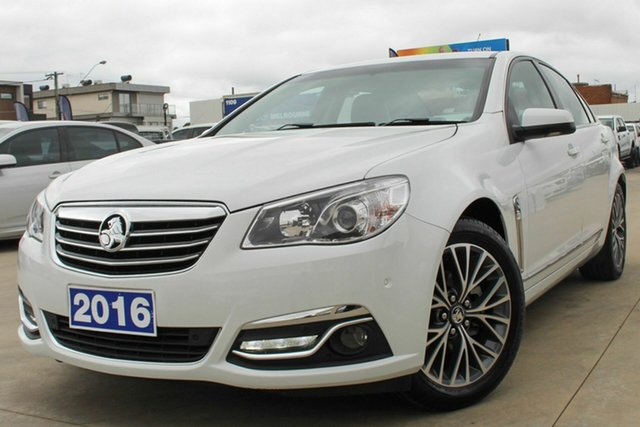 Used Holden Calais VF II MY16 Coburg North, 2016 Holden Calais VF II MY16 White 6 Speed Sports Automatic Sedan