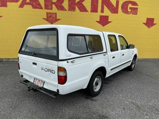 2000 Ford Courier White 5 Speed Manual Dual Cab