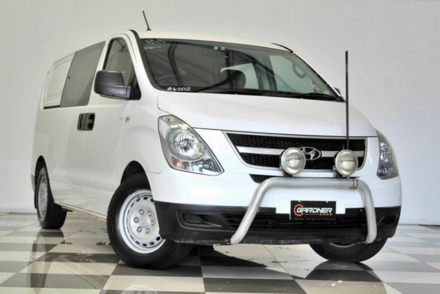 Used Hyundai iLOAD TQ MY14 Crew Burleigh Heads, 2013 Hyundai iLOAD TQ MY14 Crew White 5 Speed Automatic Van