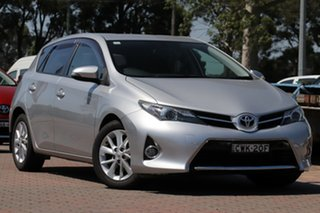 2014 Toyota Corolla ZRE182R Ascent Sport S-CVT Silver Metallic 7 Speed Constant Variable Hatchback.