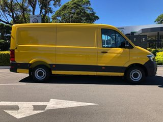 2019 Volkswagen Crafter SY1 MY19 35 MWB FWD TDI410 Yellow 8 Speed Automatic Van