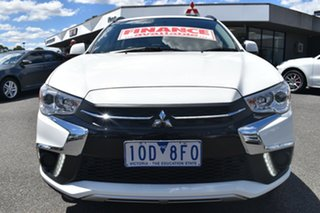 2018 Mitsubishi ASX XC MY19 ES 2WD White 1 Speed Constant Variable Wagon.