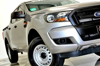 2015 Ford Ranger PX MkII XL 2.2 Hi-Rider (4x2) Grey 6 Speed Automatic Crew Cab Pickup.