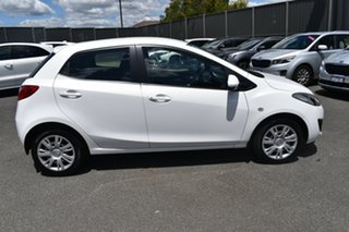 2010 Mazda 2 DE10Y1 Neo White 4 Speed Automatic Hatchback