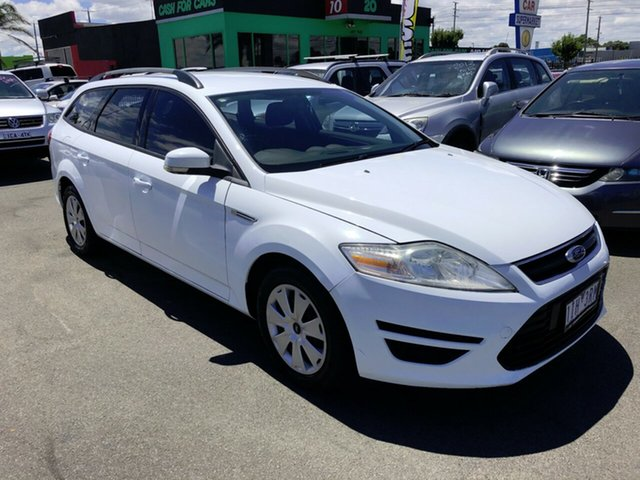 Used Ford Mondeo MC LX TDCi Cheltenham, 2011 Ford Mondeo MC LX TDCi White 6 Speed Direct Shift Wagon