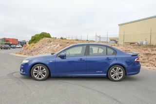 2008 Ford Falcon FG XR6 Blue 5 Speed Sports Automatic Sedan