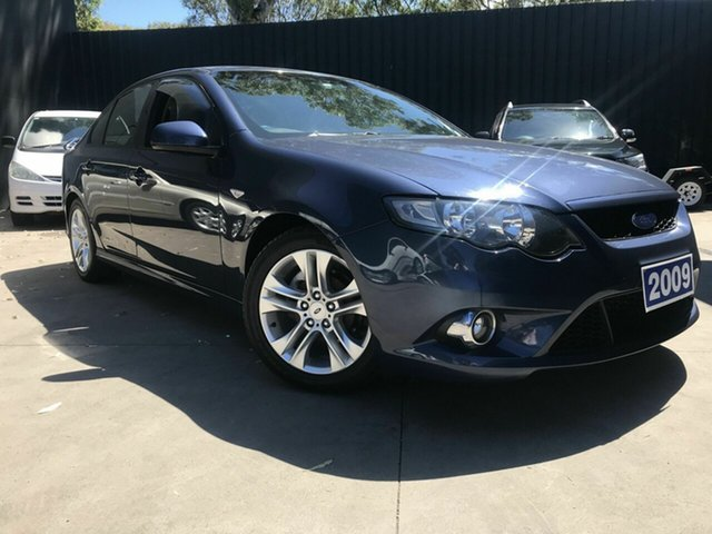 Used Ford Falcon FG XR6 Fawkner, 2009 Ford Falcon FG XR6 Blue 5 Speed Auto Seq Sportshift Sedan