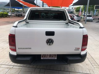 2018 Volkswagen Amarok 2H MY19 TDI420 4MOTION Perm Core White 8 Speed Automatic Utility