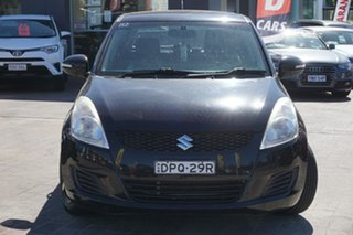 2012 Suzuki Swift FZ RE2 Cream 4 Speed Automatic Hatchback.