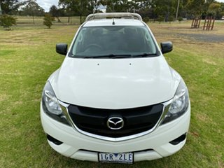 2015 Mazda BT-50 UR0YF1 XT 4x2 Hi-Rider White 6 Speed Sports Automatic Utility