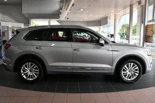 2020 Volkswagen Touareg CR MY21 170TDI Tiptronic 4MOTION Antimonial Silver Metallic 8 Speed