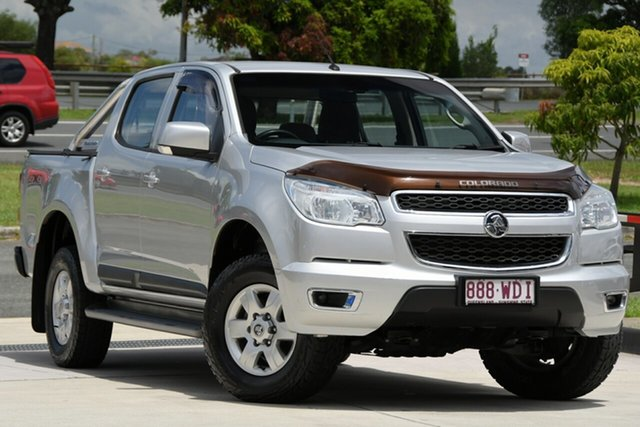 Used Holden Colorado RG MY16 LS-X Crew Cab North Lakes, 2015 Holden Colorado RG MY16 LS-X Crew Cab Silver 6 Speed Sports Automatic Utility