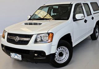 2009 Holden Colorado RC MY09 LX Crew Cab 4x2 White 5 Speed Manual Utility