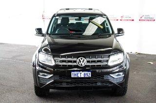 2017 Volkswagen Amarok 2H MY18 V6 TDI 550 Highline Black 8 Speed Automatic Dual Cab Utility