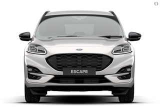 2020 Ford Escape ZH 2021.25MY ST-Line White 8 Speed Sports Automatic SUV.