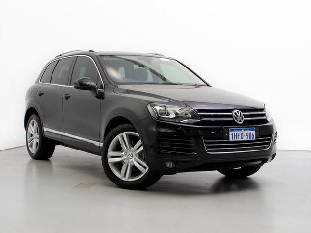 Used Volkswagen Touareg 7P MY13 150 TDI, 2013 Volkswagen Touareg 7P MY13 150 TDI Black 8 Speed Automatic Wagon