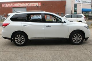 2015 Nissan Pathfinder R52 ST-L (4x2) White Continuous Variable Wagon