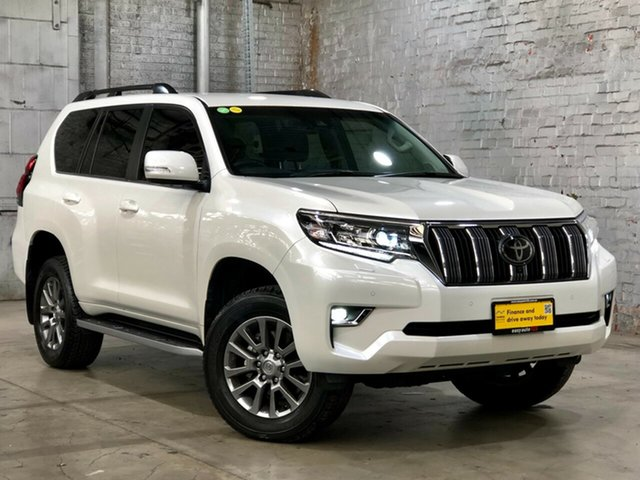 Used Toyota Landcruiser Prado GDJ150R VX Mile End South, 2018 Toyota Landcruiser Prado GDJ150R VX White 6 Speed Sports Automatic Wagon