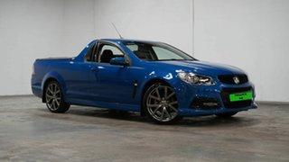 2015 Holden Ute VF MY15 SV6 Ute Lightning Blue 6 Speed Sports Automatic Utility.