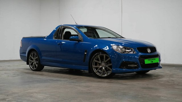 Used Holden Ute VF MY15 SV6 Ute Lightning Welshpool, 2015 Holden Ute VF MY15 SV6 Ute Lightning Blue 6 Speed Sports Automatic Utility