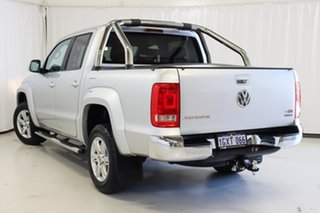 2014 Volkswagen Amarok 2H MY14 TDI400 4Mot Highline Silver 6 Speed Manual Utility.