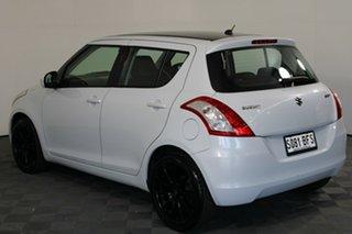 2012 Suzuki Swift FZ GL White 5 Speed Manual Hatchback