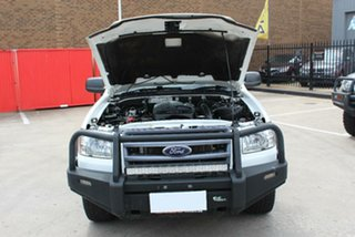 2007 Ford Ranger PJ XL (4x4) White 5 Speed Manual Dual Cab Pick-up