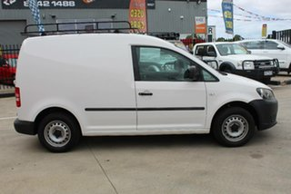2010 Volkswagen Caddy 2K MY11 TDI250 White 5 Speed Manual Van