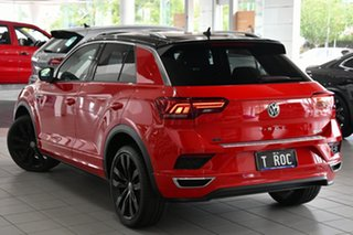 2020 Volkswagen T-ROC A1 MY20 140TSI DSG 4MOTION X Flash Red & Black Roof 7 Speed.