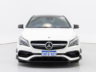 2017 Mercedes-AMG CLA45 117 MY17 4Matic White 7 Speed Automatic Coupe.