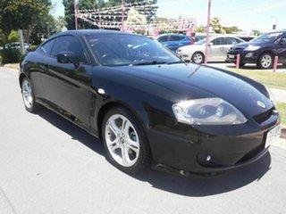 2005 Hyundai Tiburon GK V6 Black 4 Speed Automatic Coupe.