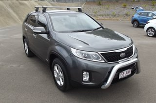 2012 Kia Sorento XM MY12 SLi Grey 6 Speed Sports Automatic Wagon.