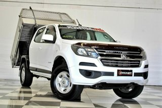 2016 Holden Colorado RG MY17 LS (4x2) White 6 Speed Automatic Crew Cab Chassis.