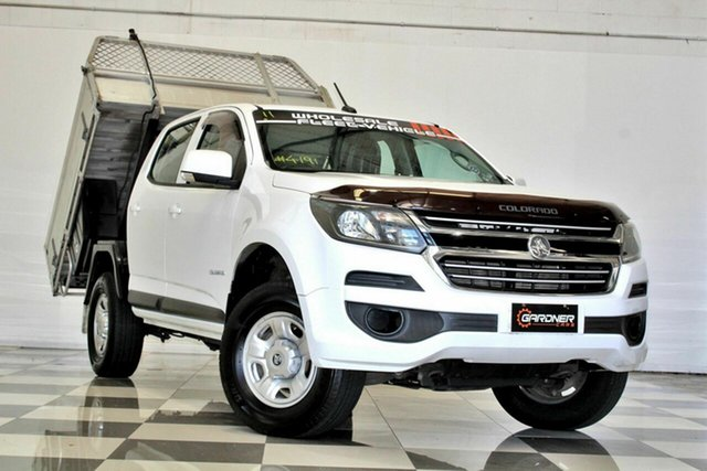 Used Holden Colorado RG MY17 LS (4x2) Burleigh Heads, 2016 Holden Colorado RG MY17 LS (4x2) White 6 Speed Automatic Crew Cab Chassis