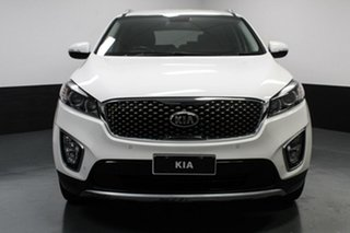 2016 Kia Sorento UM MY16 SLi AWD White 6 Speed Sports Automatic Wagon.
