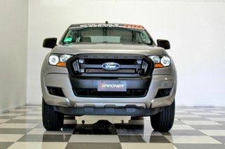 2015 Ford Ranger PX MkII XL 2.2 Hi-Rider (4x2) Grey 6 Speed Automatic Crew Cab Pickup