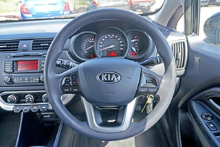 2014 Kia Rio UB MY14 S Black 6 Speed Manual Hatchback