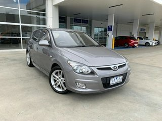 2010 Hyundai i30 FD MY11 SR Silver 4 Speed Automatic Hatchback.