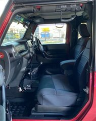 2011 Jeep Wrangler JK Sport Red & Black 6 Speed Manual Softtop