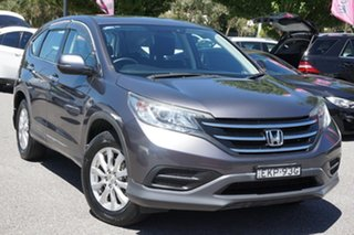 2013 Honda CR-V RM VTi Grey 5 Speed Automatic Wagon.