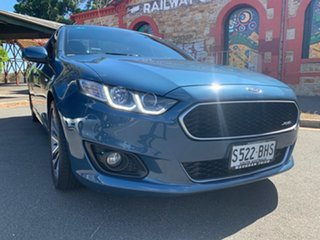 2015 Ford Falcon FG X XR6 Ute Super Cab Blue 6 Speed Sports Automatic Utility.